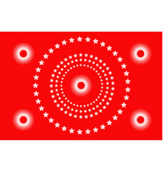 abstract festival background circle festive vector image