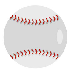 ball for playing baseball icon isolated vector image