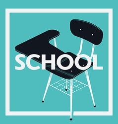 Blue School Banner vector