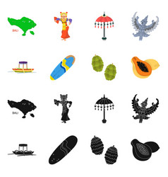 Design and travel symbol collection of vector