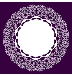 lace vector image