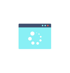 loading icon refresh icon vector image