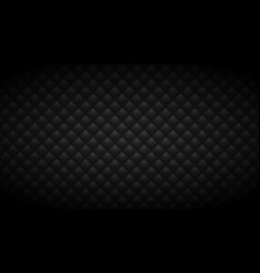 quilted black background vector image