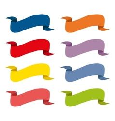 vintage ribbon banner vector image