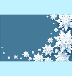 White snow wave vector