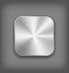 App Metal Icon vector image