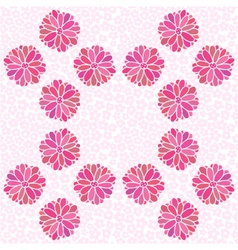 seamless color decorative flower vector image vector image