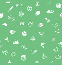 seamless sport background texture vector image