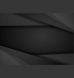 Black contrast tech arrows background corporate vector