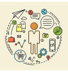 Creative concept idea vector