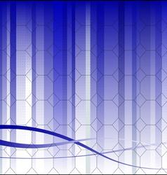 Hexagonal Business Background vector