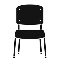 office chair icon simple style vector image