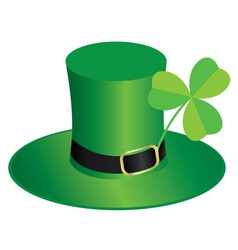 St patrick day hat vector