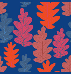 trend leaves pattern vector image