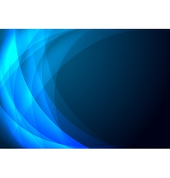 blue abstract background EPS 10 vector image vector image