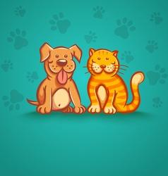 pets vector image