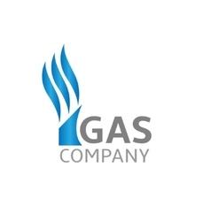 Gas Company vector image vector image