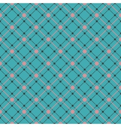 Seamless flower pattern background EPS 8 vector image