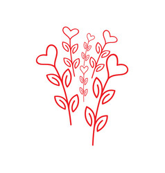 beauty love design vector image