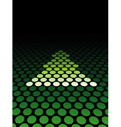 Christmas Abstract Stylish Background vector image