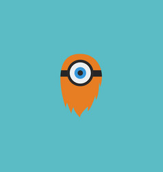 flat icon cyclop element of vector image