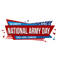 national anthem day banner design vector image