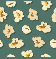 popcorn seamless pattern in flat design vector image