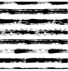 Stripes pattern from brush strokes vector