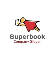Super Book Design vector image