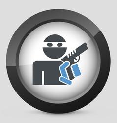 Thief armed vector