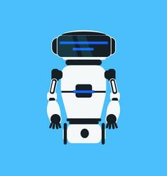 robot cartoon robotic character realistic icon vector image