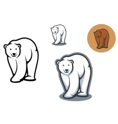Bear mascots vector