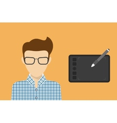 Designers avatar vector image