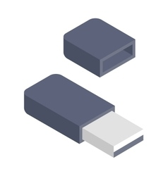 Flash drive vector