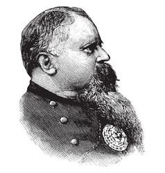 General fitzhugh lee vintage vector