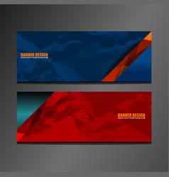 header banner texture vector image