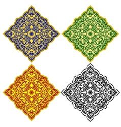 Oriental patterns-1 vector