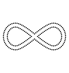 Limitless symbol vector image vector image