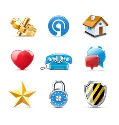 web icons | bella series vector image vector image