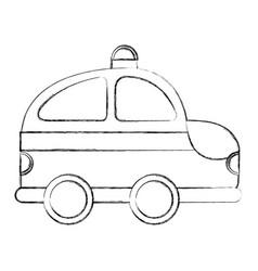 ambulance service isolated icon vector image