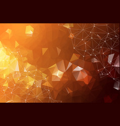 abstract background consisting of yellow orange vector image