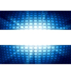 Abstract blue and white futuristic EPS 8 vector image