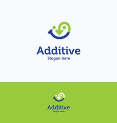 Additive logo vector