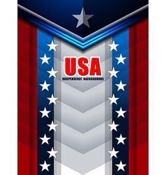American backgrounds modern design vector