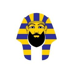 Bearded pharaoh vector