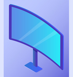 electronic device personal computer or television vector image