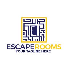 Escape rooms vector