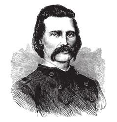 General john a logan vintage vector