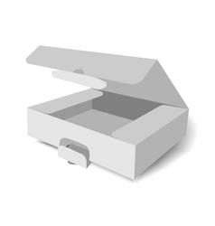 Grey Box vector image