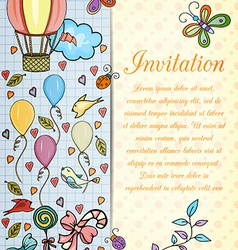 Happiness card vector